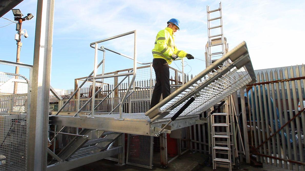 Loading Dock Platforms Warehouse Dock Plates Ajax Safe