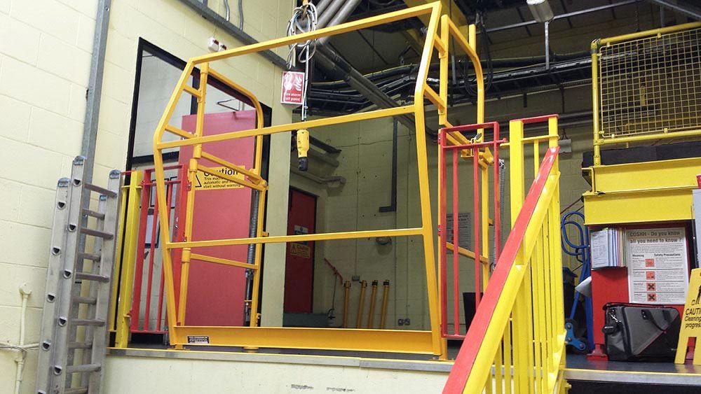Pallet Gates Safety Barriers Mezzanine Pallet Gates Ajax