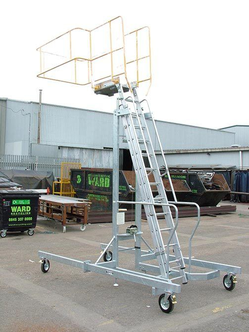 Mobile and Extendible Step Units
