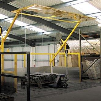 ajax-safe-access-pallet-gate-safety-barriers   Ajax Safe Access