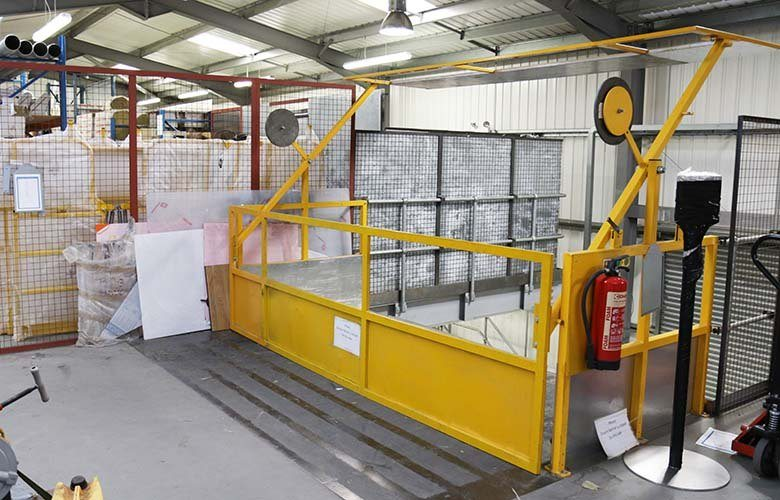 Mezzanine Pallet Gate : Uncategorised archives ajax safe access