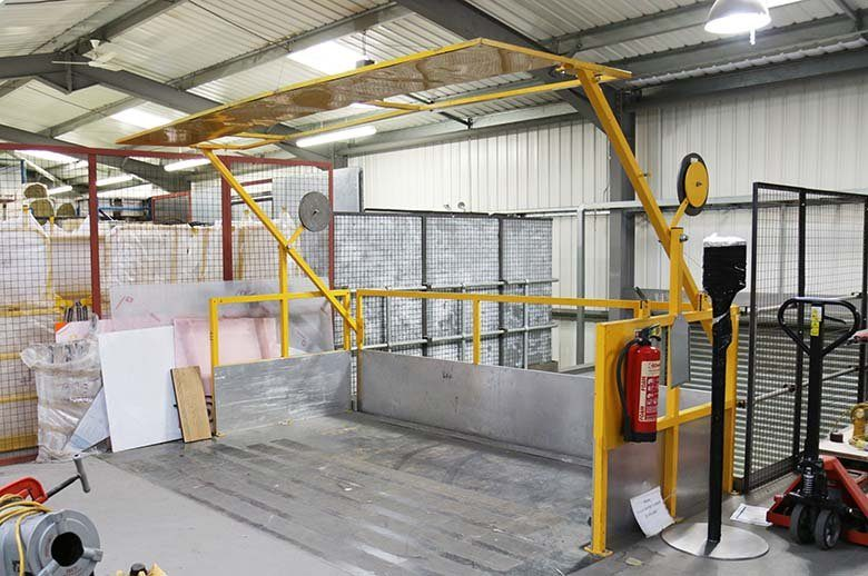Mezzanine Pallet Gate : The design of a mezzanine floor ajax safe access