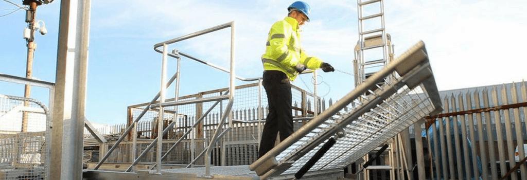 ajax safe access bridging access platforms working at height