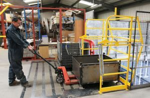 Pallet Gate Safety Barriers